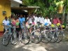 Sri Lankan cyclists Critical Mass