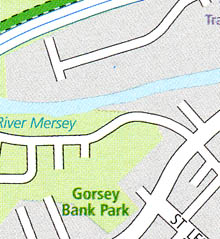 GM Cycle Map, Gorsey Bank Park