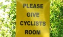 give cyclists room