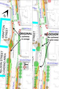 Nelson Street & Grafton Street plans